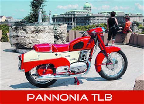 Pannonia Motorrad by Pannonia Typen
