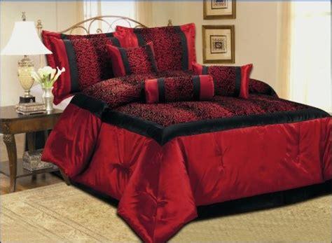 red leopard comforter set 5pcs twin xl extra long leopard bedding comforter set