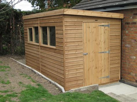Pent Roof Shed by 8 X 12 Superior Shed With Pent Roof Ref 82