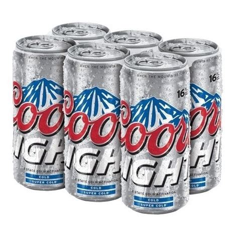 16 oz coors light coors light cans 16oz beercastleny