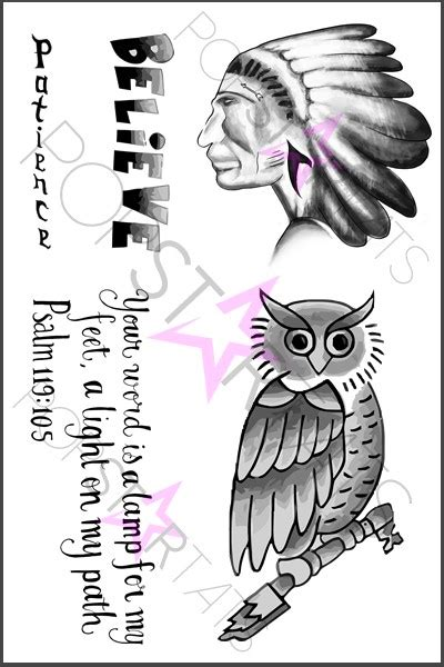 justin bieber owl tattoo justin bieber owl temporary sheet of temporary tattoos