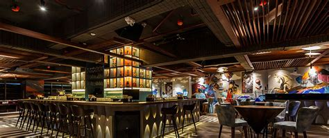 interior design   kamala mills restaurant  bar