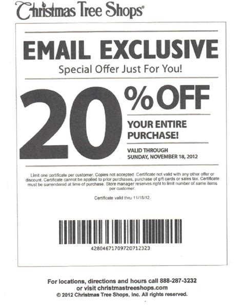 coupons for tree shop tree shop printable coupon my