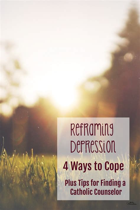 4 Types Of Up And Ways To Deal With Them by Reframing Depression 4 Ways To Cope And How To Find A