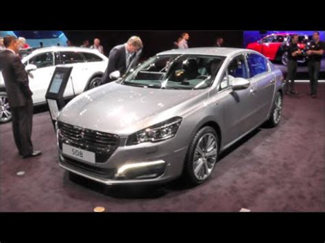 peugeot 508 interior 2016 peugeot 508 2016 in detail review walkaround interior