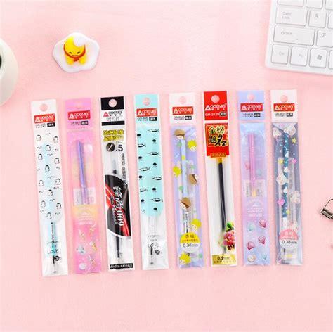 0 38mm Gel Pen 0 5mm Gel Pen 20 pcs pack 0 38mm various universal refill 0 5mm gel pen