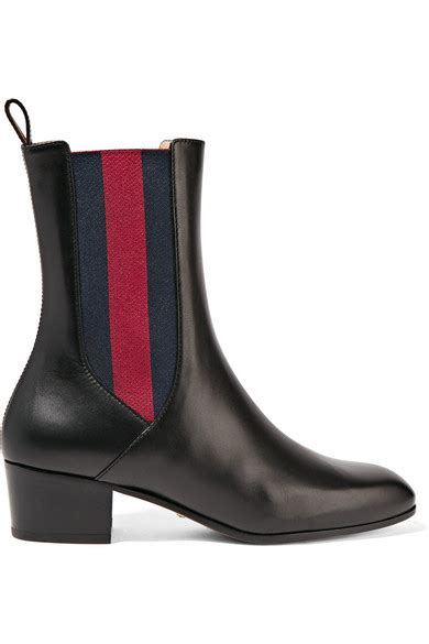 gucci chelsea boots gucci leather chelsea boots net a porter