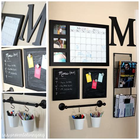 kitchen office organization ideas 1000 ideas about command centers on family