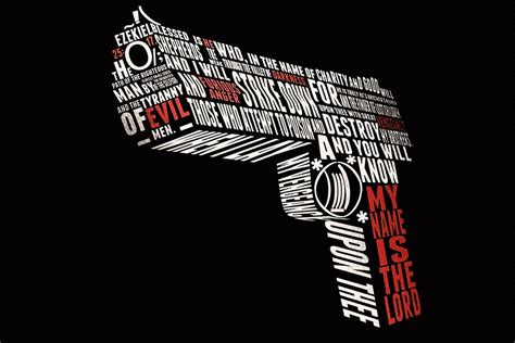 Quotes Design Wall Hanger Hd 90 A desert eagle pulp fiction quotes poster my posters poster store