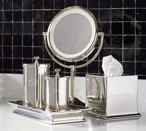 Best Bathroom Accessories Best Bathroom Accessories Mirror Mercer Bath Accessories Pottery Barn Home Design