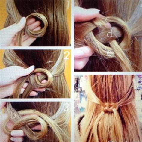 how to do knot hairstyles the other sink braided celtic hair knot