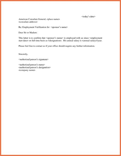 employment verification letter template free verification of employment letter bio exle