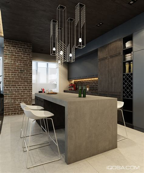 brick accent wall design a chic modern space around a brick accent wall