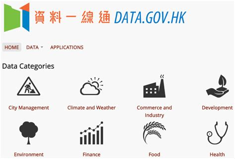 data hk comment on the reved data gov hk site open data hong kong