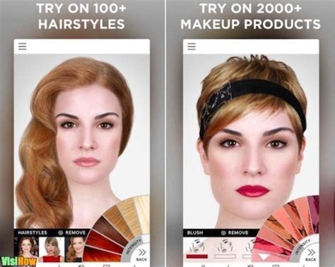 hairstyles modiface app virtual makeover ios apps modiface virtual makeover vs