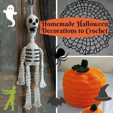 halloween decorations home made 16 homemade halloween decorations to crochet