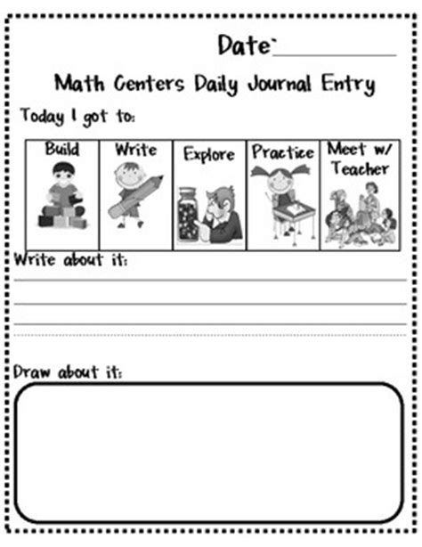 math journal template 53 best images about math notebooks on fact