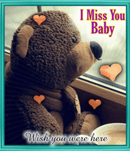 i miss you baby images i miss you baby free miss you ecards greeting cards