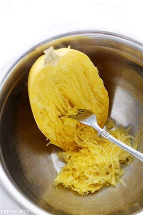 I How To Cook how to cook spaghetti squash in the microwave diethood