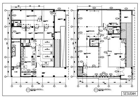 desain dapur instalasi gizi denah rumah sakit jih house q