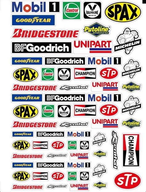 Decals Auto 1 32 by Rc Car Moto Sponsor Decals Stickers 1 10 1 8 Motor