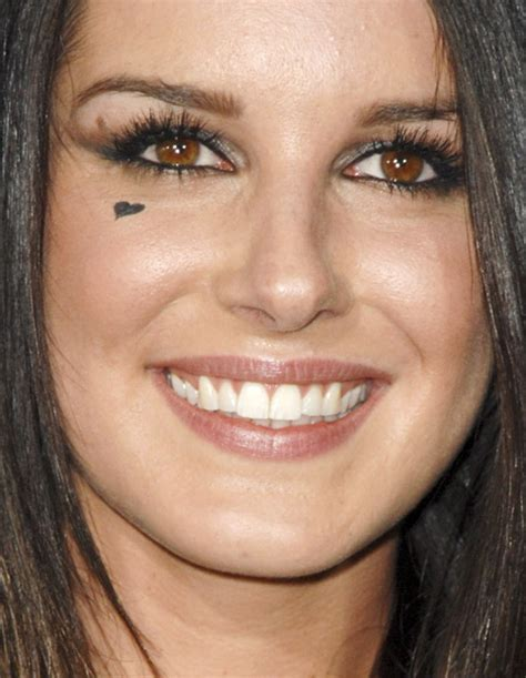 heart tattoo under eye meaning photos why does shenae grimes look like she s crying