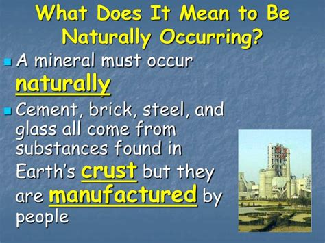 what does it mean to be sectioned ppt chapter 4 section1 what are minerals powerpoint