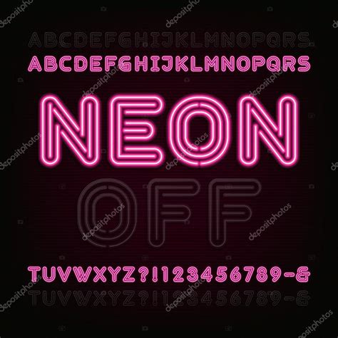 Neon Lights Font by Neon Light Font Www Imgkid The Image Kid