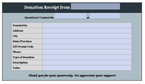 donation invoice template free donation invoice template receipt excel pdf