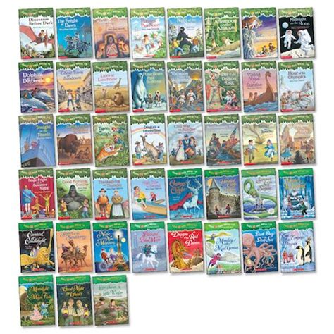 Magic Tree House Book List by Magic Tree House Mega Pack Scholastic Club