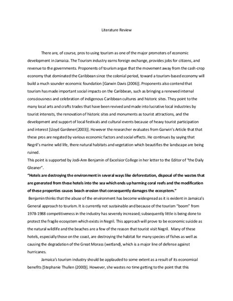 Cape Mob Ia Literature Review by Caribbean Studies Assessment