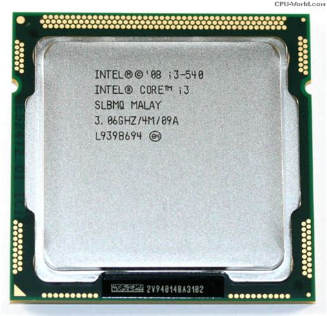 buy intel i3 processor i3 540 3 06ghz 4mb lga1156 cpu