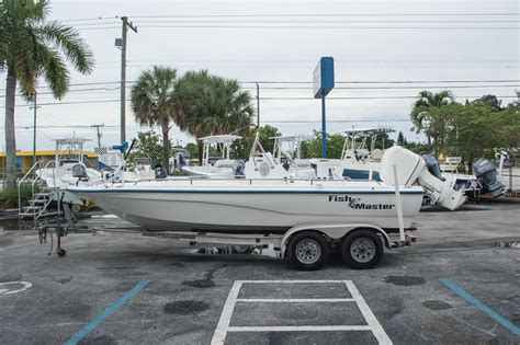 bay boats used used 2003 polar 2100 fishmaster bay boat boat for sale in