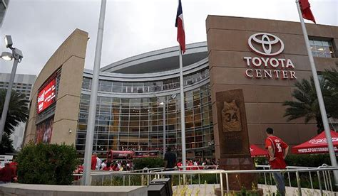 Toyota Center Toyota Center Seating Chart Row Seat Numbers