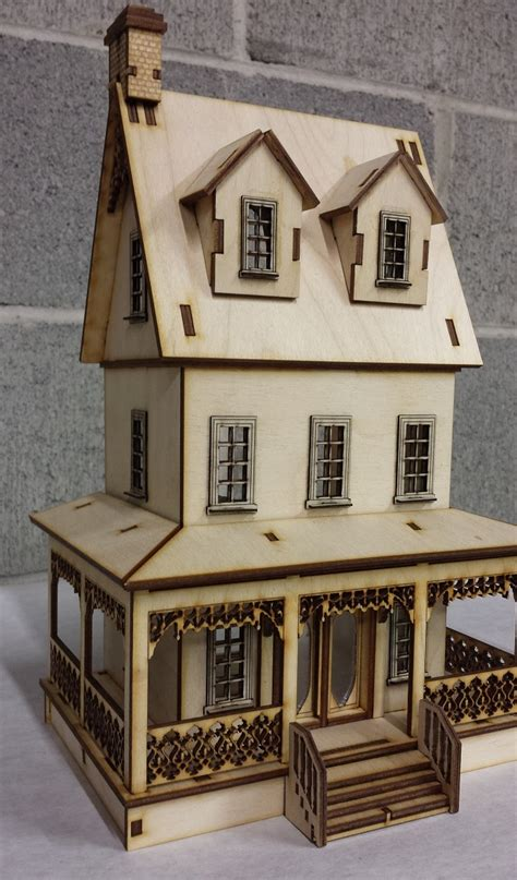 dollhouse 48 scale abriana large country cottage 1 48 scale dollhouse