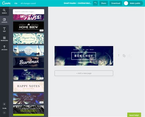 5 Tools To Create Stunning Holiday Email Templates Canva Email Template