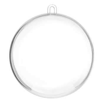 clear ball ornament 2 1 2 quot hobby lobby 207621