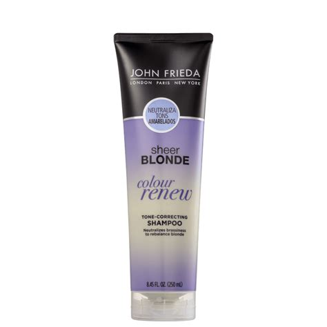 frieda sheer color renew shoo frieda sheer color renew beleza na web