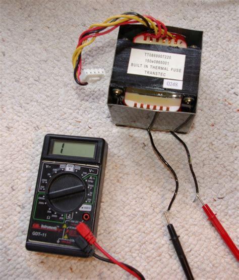 1 thermal fuse repair wiring scheme