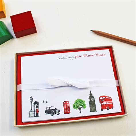 card sts personalised notecards set by give ink