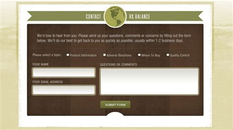 design feedback form html 30 best exles of html contact forms in web design