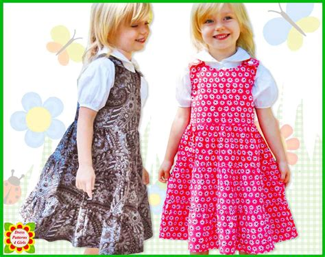 pattern for toddler jumper dress 3 tier jumper dress pattern for girls free mother daughter