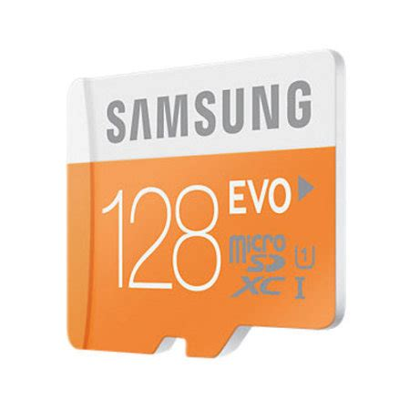 Memory Micro Sd 128gb samsung 128gb micro sdxc evo memory card adapter class 10