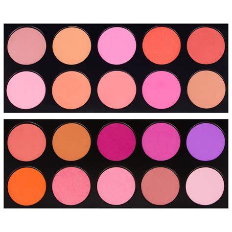 Original Coastal Scents Blush Palette coastal scents 10 color blush palette pl 018 blushes