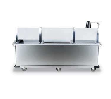 stainless steel chef table bon chef 50147 custom chef s table with brushed stainless