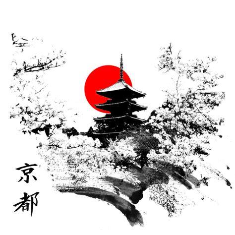 kyoto japan art print by viva la revolucion society6