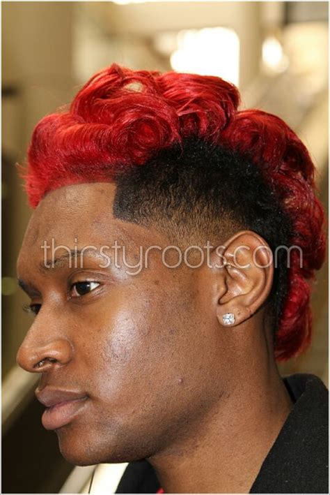 Black Men Haircuts Red Dye | 10 red hair color for men mens hairstyles 2017 of 22