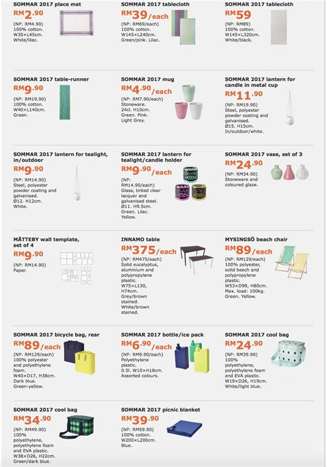 Ikea Malaysia ikea family member special offers catalogue discount