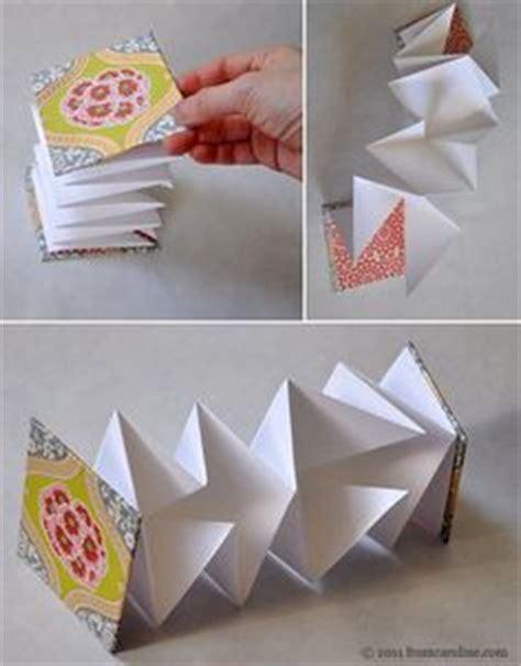 how to make an accordion card accordion book on handmade books bookbinding