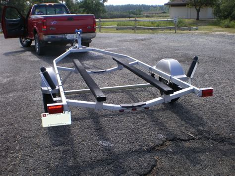deck boat height on trailer make a pair of bunk glides for your boat trailer